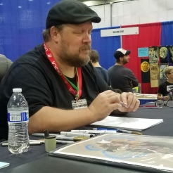Adam Hughes was a class act at his table