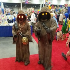 Somehow, they were able to speak Jawa.