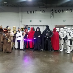 A star wars gathering