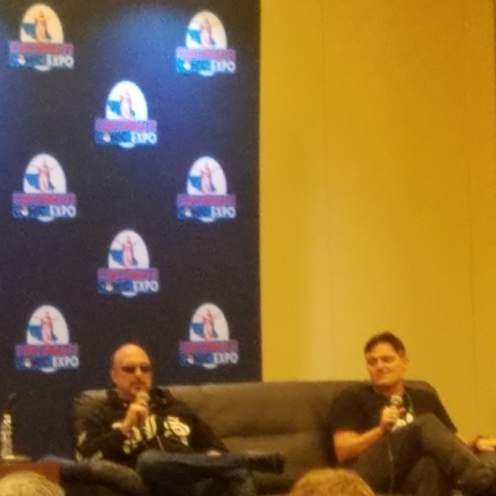 Capullo and Snyder was cool enough to do a surprise panel!