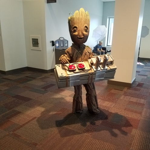Another Groot and this turn table worked!