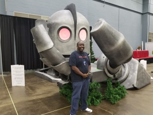 The Iron Giant model was nice and it was for Autism Works.