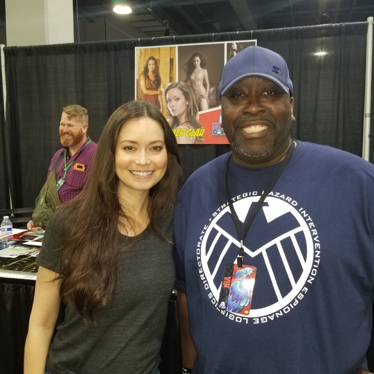 Summer Glau was very cool