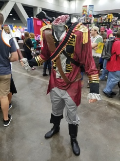 This was a great cosplay, but it did creep me out